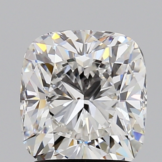 Cushion Cut 1.700 Carat G Color Vs2 Clarity Sku 222029820