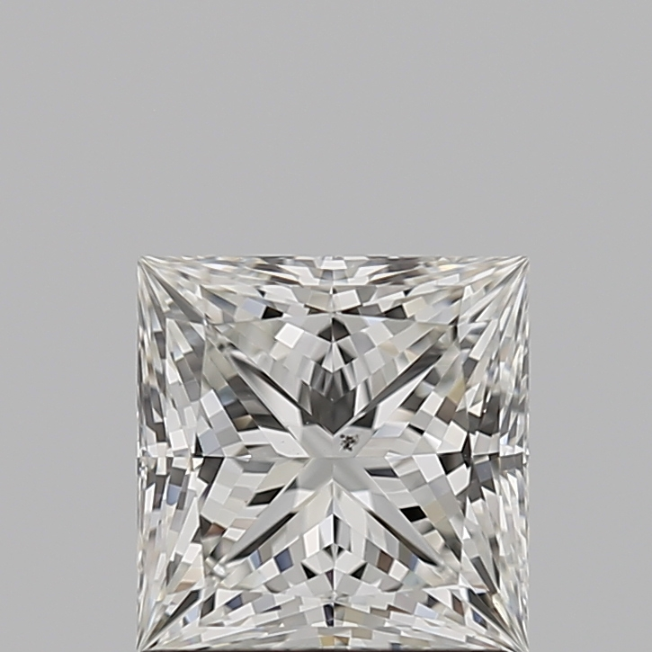 Princess Cut 1.100 Carat I Color Si1 Clarity Sku 2409747535