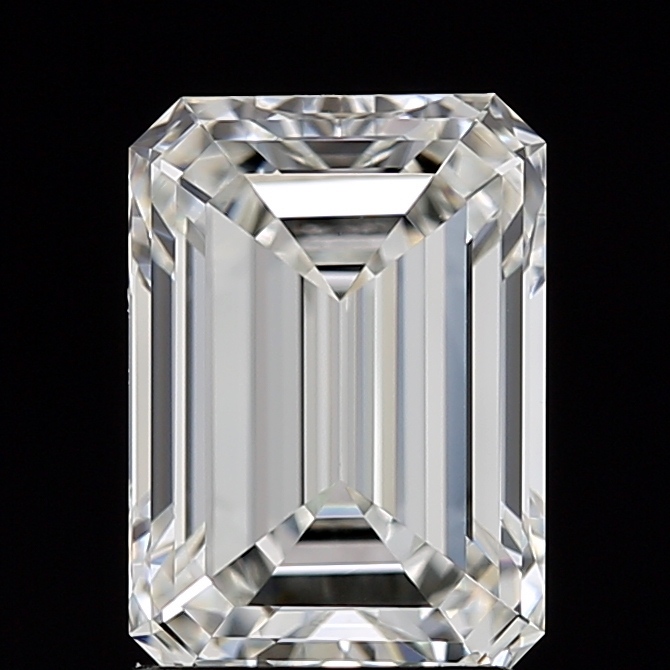 Emerald Cut 1.720 Carat H Color Vs1 Clarity Sku 1520330342