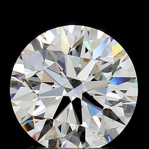 1.92 Carat G-SI1 Ideal Cut Round Diamond
