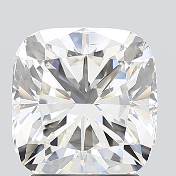 Cushion Cut 2.010 Carat H Color Si2 Clarity Sku 2807288152