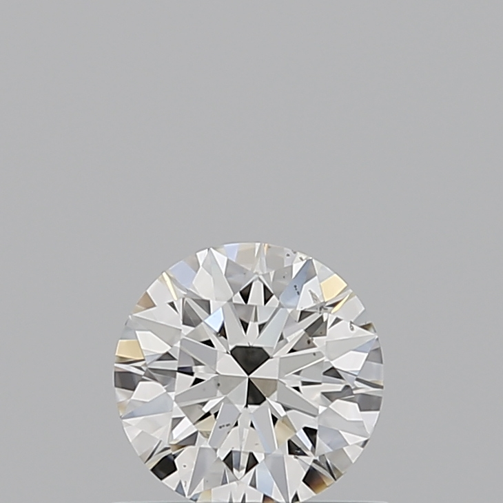 Loose Diamonds Round Cut 0.500 Carat H Color Si1 Clarity Sku 2713430613