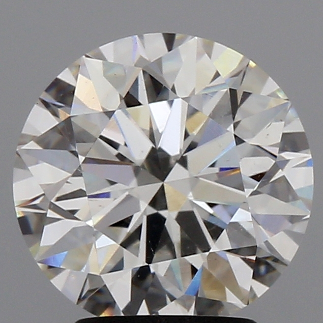 2.71 Carat G-SI1 Ideal Cut Round Diamond