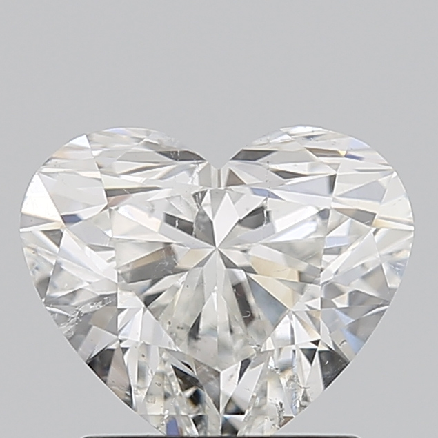 Heart Cut 1.200 Carat H Color Si2 Clarity Sku 3535790948