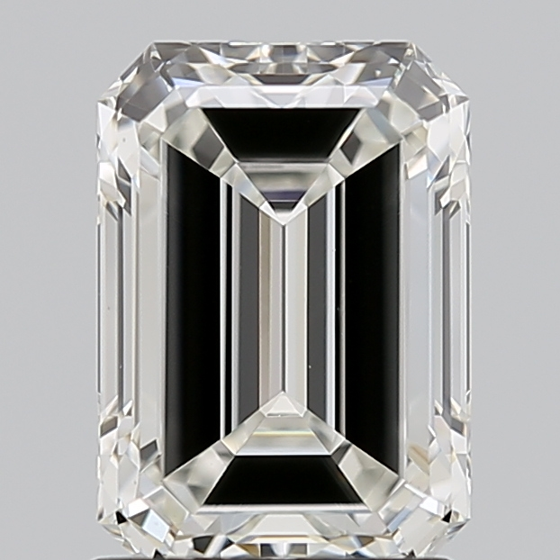 Emerald Cut 1.500 Carat I Color Vs1 Clarity Sku 1787686280
