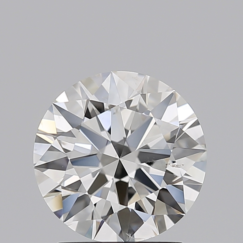 1.51 Carat E-SI1 Ideal Cut Round Diamond