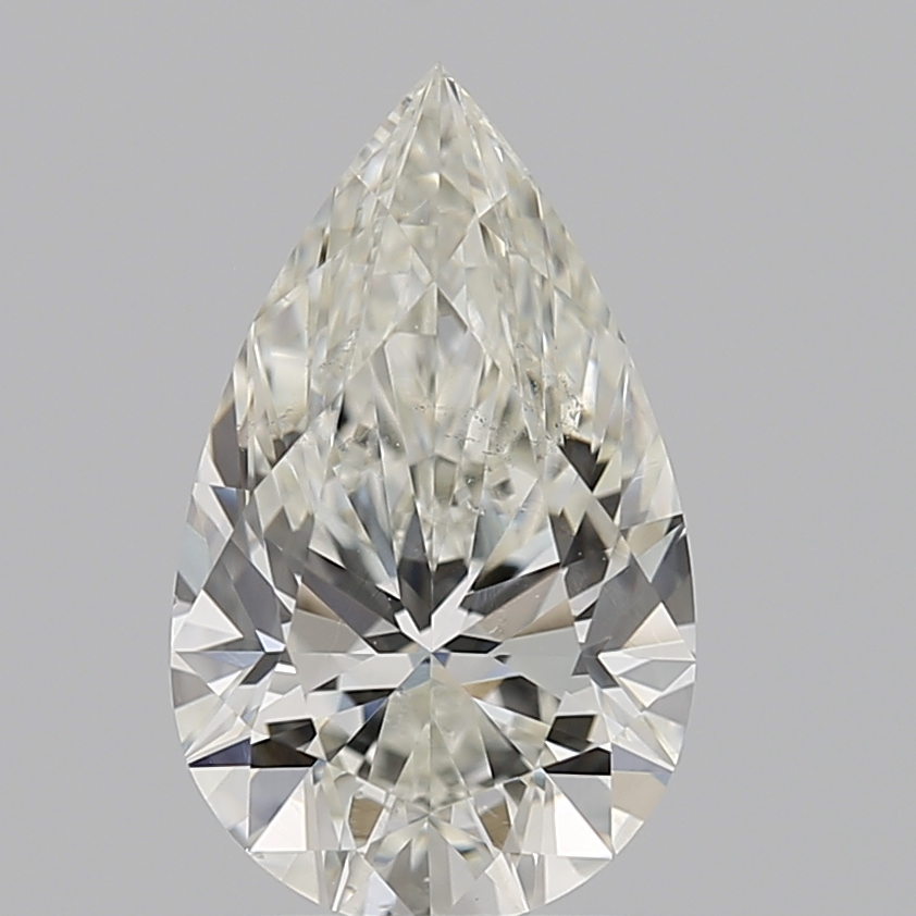 Pear Cut 1.500 Carat J Color Si1 Clarity Sku 633444649