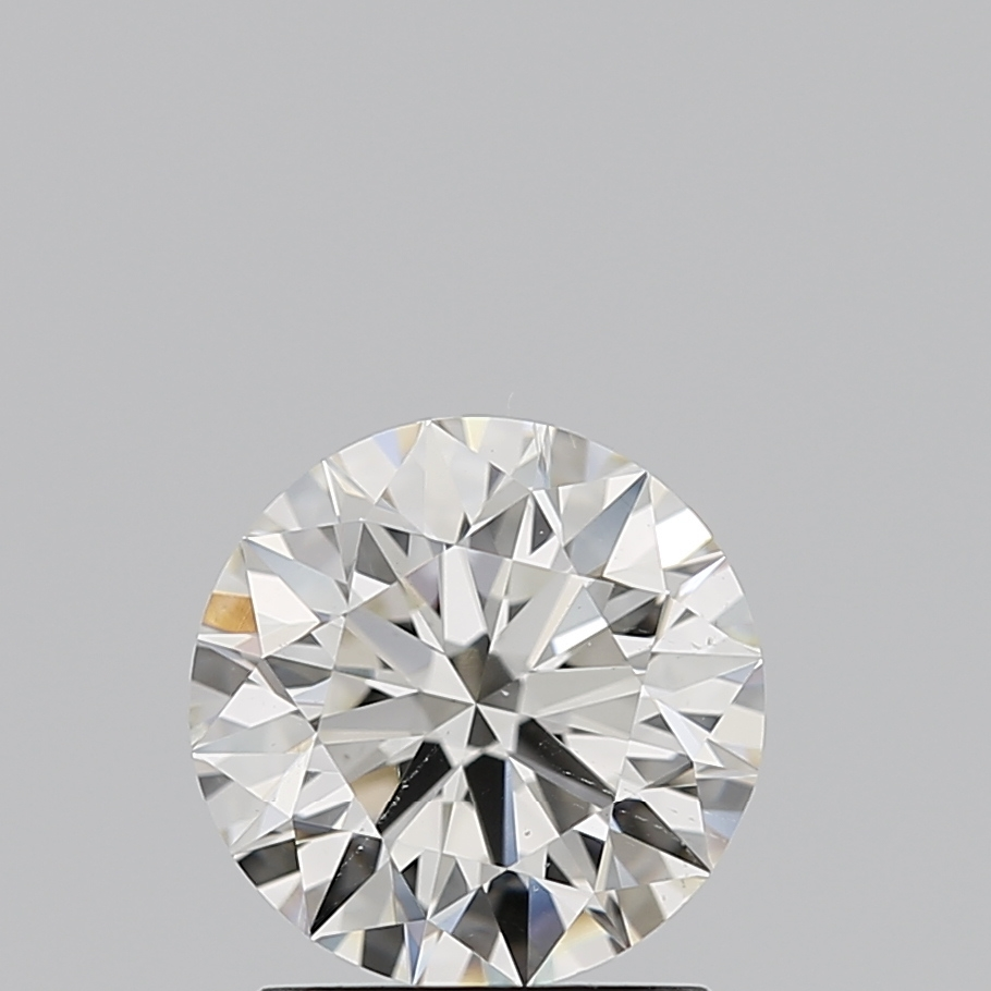 1.30 Carat J-SI1 Ideal Cut Round Diamond