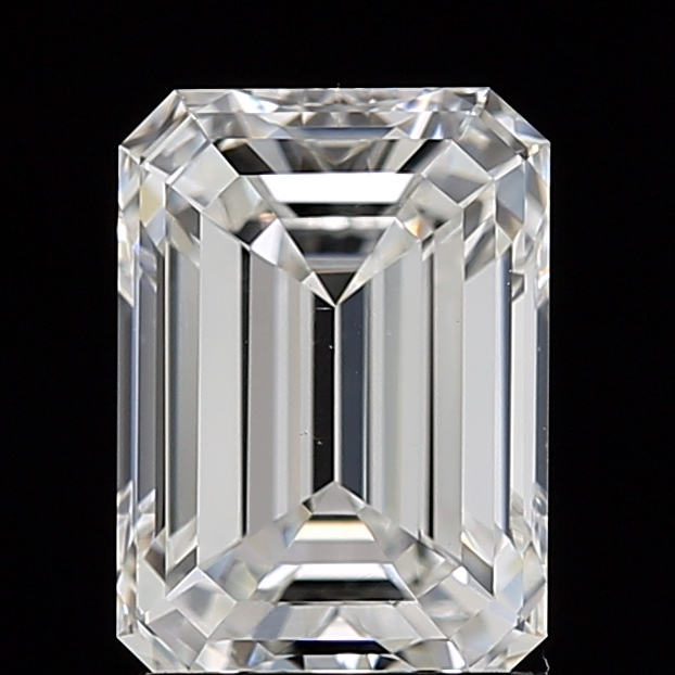 Emerald Cut 1.560 Carat H Color Vs1 Clarity Sku 2977808643