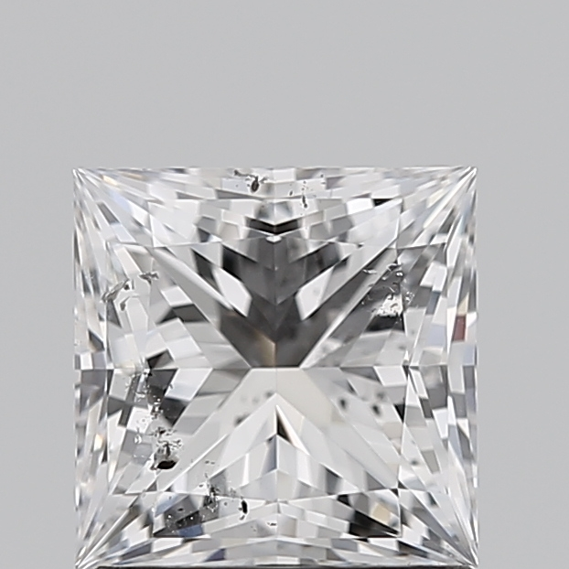 Princess Cut 1.210 Carat D Color Si2 Clarity Sku 3792501914