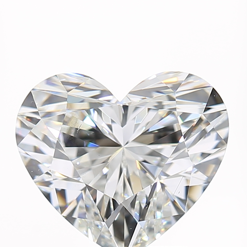 2.02 Carat G-SI1 Very Good Heart Diamond