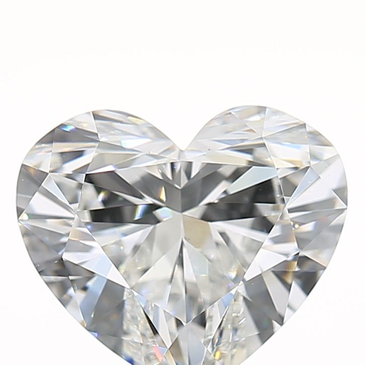 1.70 Carat F-VS1 Very Good Heart Diamond