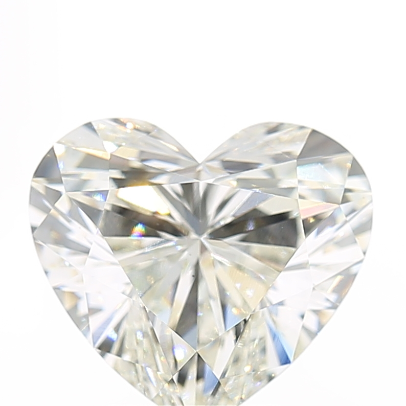 3.03 Carat I-VS1 Ideal Heart Diamond