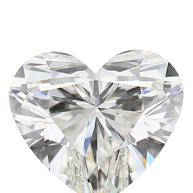 1.73 Carat H-VS2 Ideal Heart Diamond
