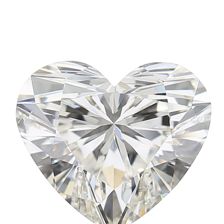 2.02 Carat H-SI1 Ideal Heart Diamond