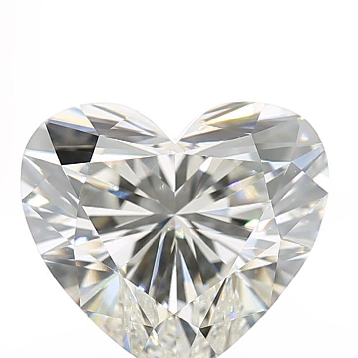 2.51 Carat I-VS1 Ideal Heart Diamond