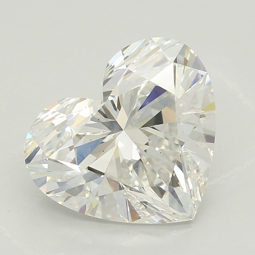 Heart Cut 2.30 Carat G Color Vs2 Clarity Sku Lg71641321