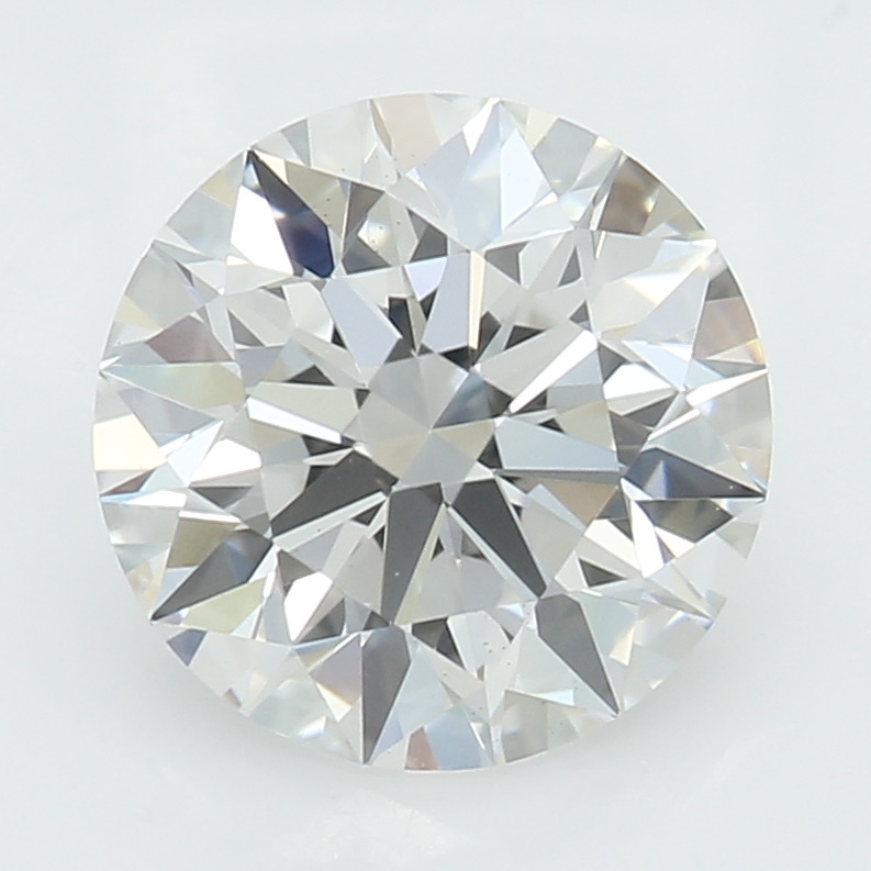1.21 Carat G-VS1 Ideal Round Diamond