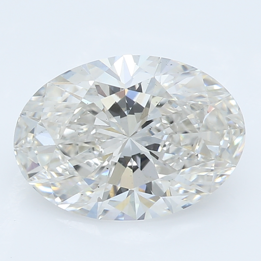 1.52 Carat H-VS2 Ideal Oval Diamond