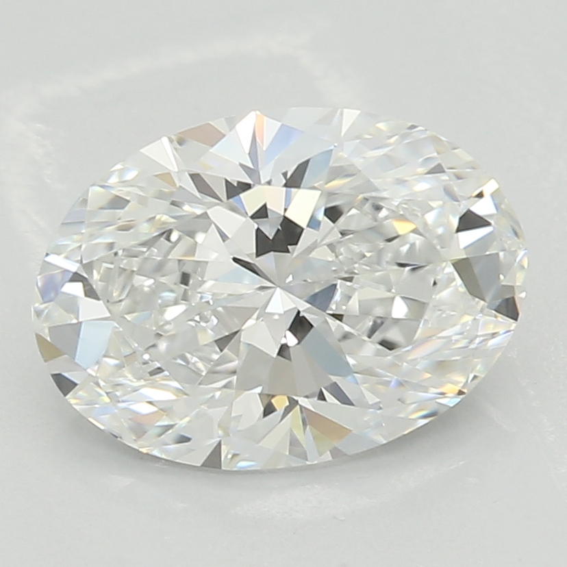 1.24 Carat G-VS1 Ideal Oval Diamond