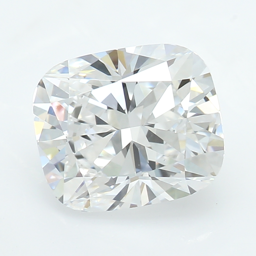 1.40 Carat D-VS1 Ideal Cushion Diamond